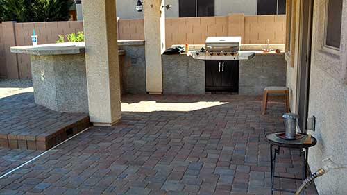 Paver Patio over existing patio