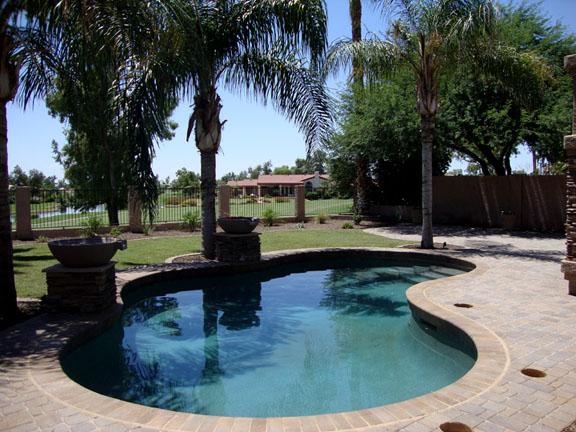 pavers around pool paver patio ideas
