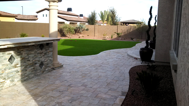 Paver Patio Stones Brick Ideas And Installation Az Landscape