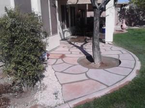 Arizona Flagstone Patio
