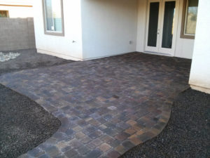 Arizona Paver Patio Design