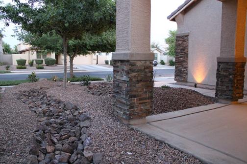 Desert Landscape Design Arizona Front Yard Remodel