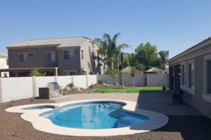 backyard landscape arizona living landscape and design