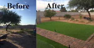 backyard-landscape-revamp-Gilbert-AZ