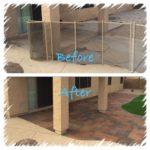 paver patio remodel Backyard landsape design