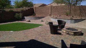 az-backyard-landscape-synthetic-grass-planters