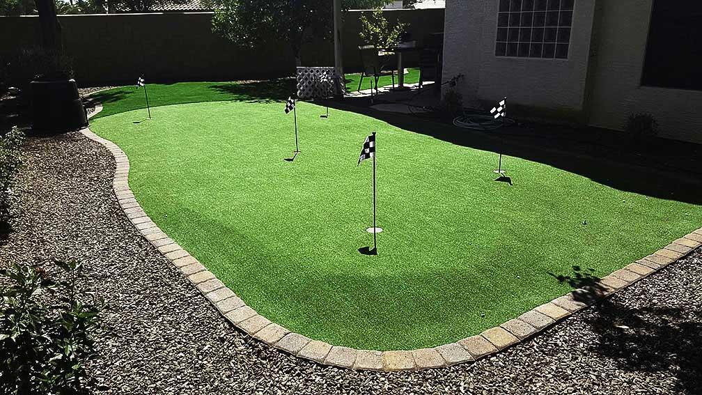 yard revamp remodel Arizona Living Landscape on Backyard Redesign Ideas id=56465